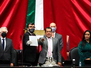 Sergio Gutiérrez, presidirá la Cámara de Diputados de México