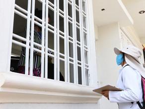 Anuncian brigadas casa por casa para detectar casos de Covid-19 en SCLC