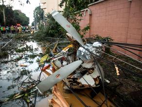 Una avioneta con alimentos para afectados por Eta se estrella en Guatemala