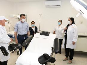 En Suchiapa, reconvierten Centro de Salud para mejorar atención médica