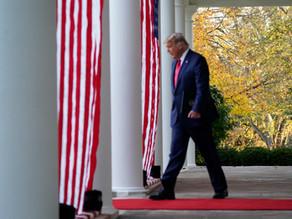 Trump sigue sin reconocer su derrota