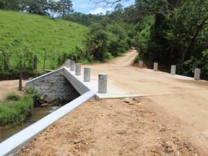 Gobierno de Villaflores beneficia con la construcción de puentes en la zona sierra
