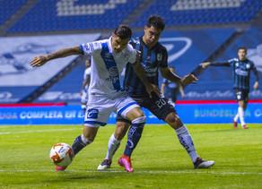 Tabó rescató un empate agónico del Puebla ante el Querétaro