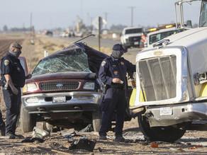 Ocho migrantes mexicanos mueren en Texas en otro grave accidente de carretera