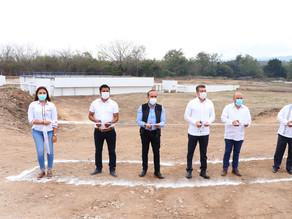 Inauguran rehabilitación y ampliación de Planta de Tratamiento de Aguas Residuales de Suchiapa