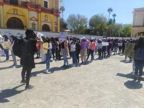 Con una marcha, mujeres piden Justicia por Mariana