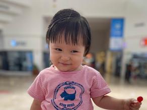 La aventura de ser mamá: Su primer corte de pelo