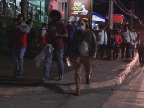 Caravana migrante parte de Honduras hacia Estados Unidos