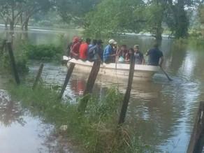 Lluvias arrasaron también con el campo chiapaneco