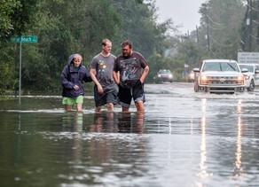 """Sally se reduce a tormenta tropical pero provoca """"inundaciones catastróficas"""""""