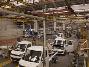 La producción y exportación de vehículos de México cae 20 % en 2020