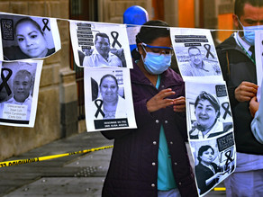 México es el país con más personal sanitariomuerto por COVID con 1.320, según AI