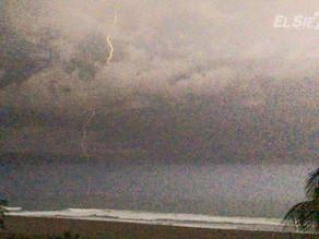 Alerta, se pronostica fuertes lluvias para las próximas horas en diferentes regiones de Chiapas