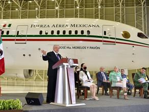 México estudia dos ofertas de compra de polémico avión presidencial