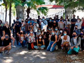 Opositores cubanos en huelga de hambre, débiles pero arropados tras el golpe