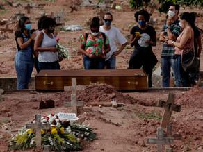Brasil rompe su récord diario al registrar más de 4.000 muertes por covid-19