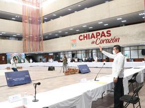 Sin endeudar a Chiapas, se ha hecho frente a dificultades como la pandemia y desastres naturales