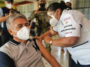 México aplica esquema completo de vacunación contra covid-19 al 60% de adultos