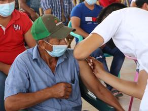 En Villaflores instituciones vacunaron más de 3500 personas éste fin de semana