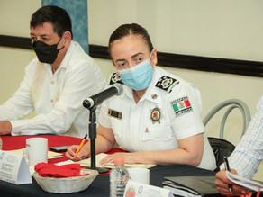 Acompaña Zepeda Soto a gobernador a Mesa de Seguridad en Palenque