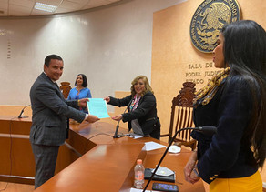 Nombra Poder Judicial a juzgadores bajo protesta de honorabilidad constitucional