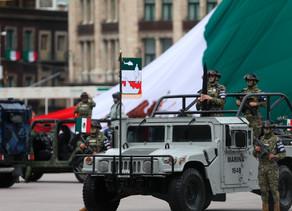México celebra Independencia en acto que exalta combate de médicos y Ejército