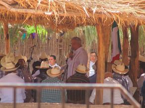 AMLO ofrece a Pueblo Yaqui revisar problemática de tierra y agua