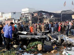 Atentado suicida en un mercado de Bagdad deja al menos 30 muertos