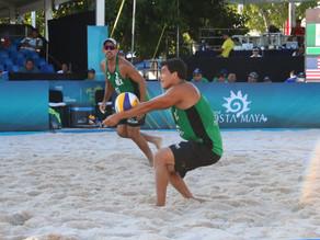 Dupla mexicana inicia con triunfo en Tour Mundial de Voleibol de Playa