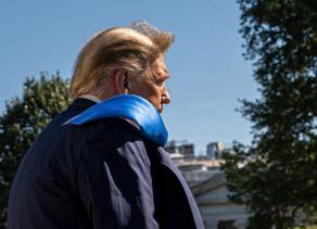 Trump insinúa que teme perder las elecciones al comenzar una gira de campaña