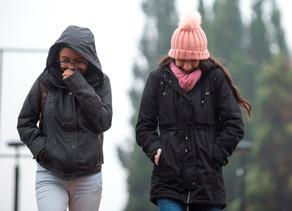 Se espera frío intenso en 19 estados y lluvias en 13 en próximos días