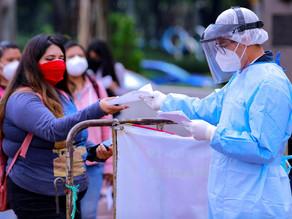 México reporta 1.177 muertes por covid, la cifra más alta de la tercera ola