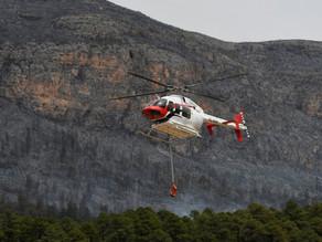 México sufre 75 incendios forestales activos que afectan a 20 estados