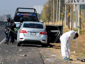 Nueve muertos en un tiroteo en Guanajuato