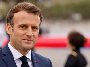 Macron, entre los posibles blancos del programa espía Pegasus