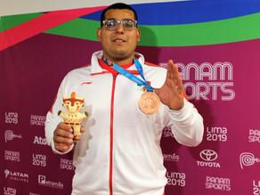 Muñoz gana bronce en bala