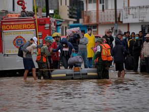 Más de 80.000 afectados y 12 muertos por lluvias en el sureste de México