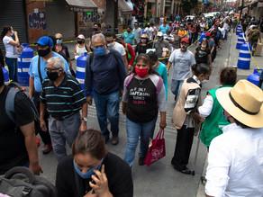 México tiene 616.894 contagios y 66.329 decesos por COVID-19