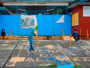 México regresarán a las aulas en medio de tercera ola de covid