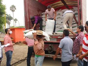 Gobierno de Villaflores inicia entrega de dos mil toneladas de fertilizante
