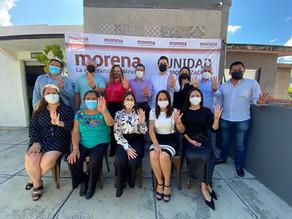 Legisladores electos de Morena eligen a Yamil Melgar como coordinador de bancada