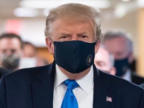 Trump recomienda a sus votantes que se vacunen contra covid-19