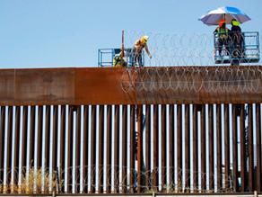 Trump se despide de su muro con México, una promesa cumplida a medias