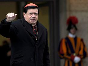 Desintuban a cardenal Norberto Rivera, enfermo de covid