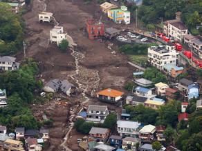 Suman 4 muertos y 80 desaparecidos por un alud en Japón