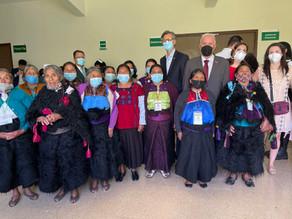 Embajador de Francia en México vuelve a visitar Chiapas