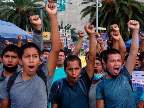 Sie7e años de Ayotzinapa con solo tres identificados y un funcionario fugado