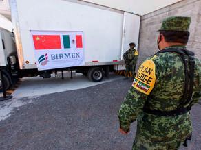 México distribuye primeras 955.720 vacunas de CanSino envasadas en el país