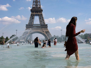 Primera ola de calor en Europa, superaría los 40°C