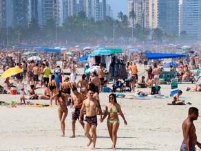 La pandemia da por primera vez tímidas señales de ralentización en Brasil